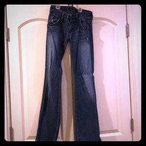 Hudson boot cut jeans 25